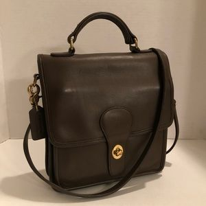 Authentic Classic Coach Station Bag